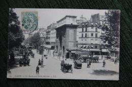 PARIS - Le Boulevard Saint Michel - Arrondissement: 05