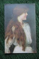 Jeune Femme Aux Longs Cheveux Roux - Femmes