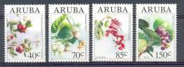 Nbr0144 FLORA WILDE VRUCHTEN FRUIT WILD FRUITS EINHEIMISCHE WILDFRÜCHTE ARUBA 1994 PF/MNH - Frutas