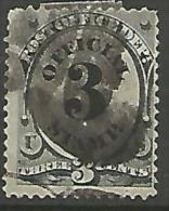 ETATS-UNIS SERVICE N° 69  OBL - United States