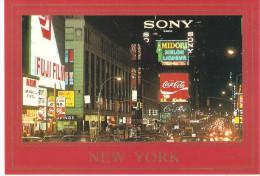 CPM ETATS UNIS NEW YORK TIME TIMES SQUARE THEATER DISTRICT (non Ecrite) - Time Square
