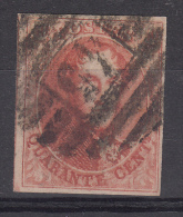 Nr 12, Stempel 45 'Gand', 8 Lijnen, Cote = +90 € (X11337) - 1858-1862 Médaillons (9/12)
