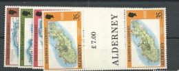1989 MNH Alderney  Gutterpairs, Postfris - Alderney