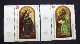 SMOM Malteser Orden Einzelmarken Aus Block 27 **/mnh, Christliche Gemälde - Malta (Orden Von)