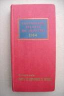 PCS/28 CALENDARIO ATLANTE DE AGOSTINI 1964 Omaggio Cassa Di Risparmio Di Torino - Carte Geographique