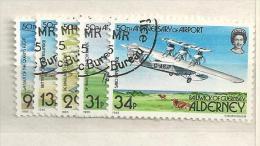 1985 USED Alderney Gestempeld - Alderney