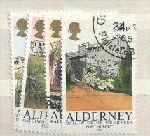 1986 USED Alderney Gestempeld - Alderney