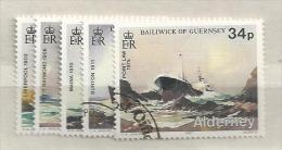 1987 USED Alderney Gestempeld - Alderney