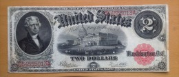 USA 2 Dollars 1917 Jefferson - Federal Reserve Notes (1914-1918)