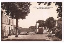 886-8-36  FOULAIN-sur-MARNE  La Mairie - Route Nationale - Sonstige Gemeinden