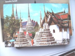 Thailand Bangkok Inside Wat Pho - Thailand