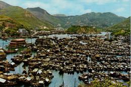 HONG KONG   ABERDEEN  THE  FAMOUS FISHING AREA       (NUOVA) - Cina (Hong Kong)