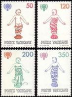 Vatican 1979 Religions International Year Of The Child IYC Hospital Stamps MNH SC 664-667 Michel 755-758 SG731-734 - Organizations