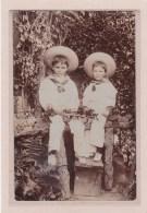 PHOTOGRAHIE-PHOTOS-ENFANTS-ANGLETERRE-HAMPSHIRE-VERITABLE PHOTO D'ENFANTS - Personnes Anonymes