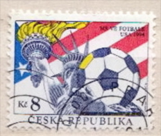Czechia CTO Stamp - World Cup