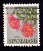 New Zealand 1967 Decimal Currency 7c Rata Used  - - - New Zealand