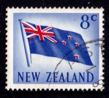 New Zealand 1967 Decimal Currency 8c Flag Used - - - New Zealand
