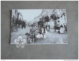 PHOTO(RETIRAGE) Belgique   PHOTO 11.5 X18 CMS COURTRAI ATTELAGE VOITURE A CHIEN DU FACTEUR .... - Repro's