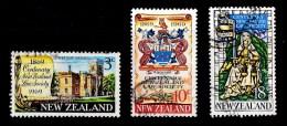 New Zealand 1969 Law Society Centenary Set Of 3 Used - New Zealand
