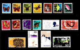 New Zealand 1970 Definitives Short Set To 50c Used - New Zealand