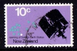 New Zealand 1971 Satellite Earth Station 10c Used - New Zealand