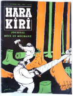 Revue 1ère Série  MENSUEL HARA KIRI N° 20 1962 - FRED CABU GEBE TOPOR WOLINSKI - Magazines Et Périodiques
