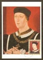 BARBUDA Carte Maximum - Henri VI 1422-1461 - Antigua Und Barbuda (1981-...)