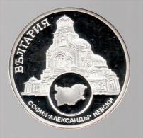 BULGARIA - EL DINERO DE EUROPA - Medalla 50 Gr / Diametro 5 Cm Cu Versilvert Polierte Platte - Bulgaria