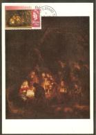 CAIMANES Carte Maximum - L'Adoration Des Bergers - Iles Caïmans