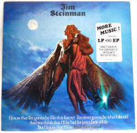 RARE Disque Vinyle 33T JIM STEINMAN - BAD FOR GOOD - EPIC CBS 84361 1981 POCHETTE CORBEN - Disques & CD