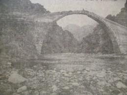 CPA  Grèce Bralo Un Pont à Théssalie - Grèce