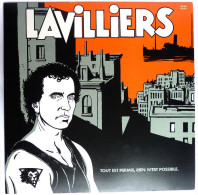 RARE Disque Vinyle 33T LAVILLIERS - LE BAL - BARCLAY BA 260 821829 1 1984 POCHETTE JACQUES TARDI - Disques & CD