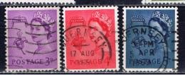 GBG+ Guernsey 1958 1968 1969 Mi 1 6 7 Elisabeth II. - Guernesey
