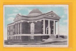 AMERIQUE - ETATS-UNIS - CAROLINE DU NORD - ALBERMARLE - RELIGION - EGLISES - FIRST PREBYTERIAN CHURCH - Etats-Unis