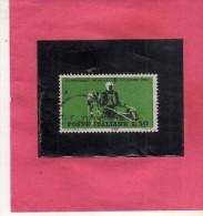 ITALIA REPUBBLICA ITALY REPUBLIC 1962 CAMPIONATI MONDIALI DI CICLISMO CYCLING CHANPIONSHIP LIRE 30 USATO USED OBLITERE´ - 1961-70: Gebraucht