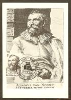 BELGIQUE Carte Maximum - Adam Van Noort - Maximumkaarten