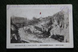 Guerre 1914 - 18, BEUVRAIGNES, Entrée Du Pays - Guerre 1914-18