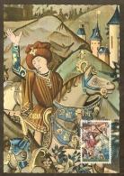 BELGIQUE Carte Maximum - Histoire De César - Other