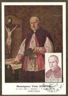 BELGIQUE Carte Maximum - Monseigneur Scheppers - Other