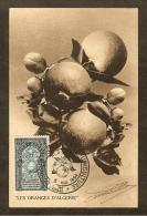 ALGERIE Carte Maximum - Congres Internationnal - Algerien (1924-1962)