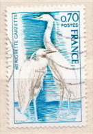 France Used Stamp - Storks & Long-legged Wading Birds