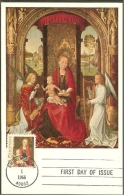 ETATS UNIS Carte Maximum - Vierge Et Enfant Jésus - Maximumkarten (MC)