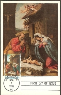 ETATS UNIS Carte Maximum - La Sainte Famille - Maximumkarten (MC)