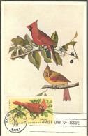 ETATS UNIS Carte Maximum - Cardinal - Maximumkarten (MC)