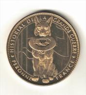 Medaille Arthus Bertrand 80.Peronne - Historial De La Grande Guerre Le Chien 2007 - Arthus Bertrand