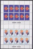 Europa Cept 2006 Kosovo 2v 2 Sheetlets ** Mnh (24739) - 2006