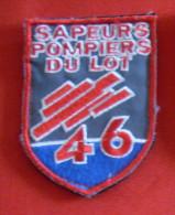 INSIGNE De POITRINE  PATCH SAPEURS POMPIERS Du LOT 46 - Patches