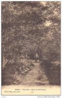 AIZIER - Eure - Sous Bois - Route De Saint Thomas Avec Personnage - Sonstige Gemeinden