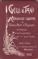 Gelli & Tani  -  Catalogue Illustré De Timbres-Poste Et Télégraphe (Belgique Et Congo Belge)  1921 - Belgique