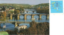 CZECH REPUBLIKA  PRAHA PRAGA  Bridges  Nice Stamp - Czech Republic